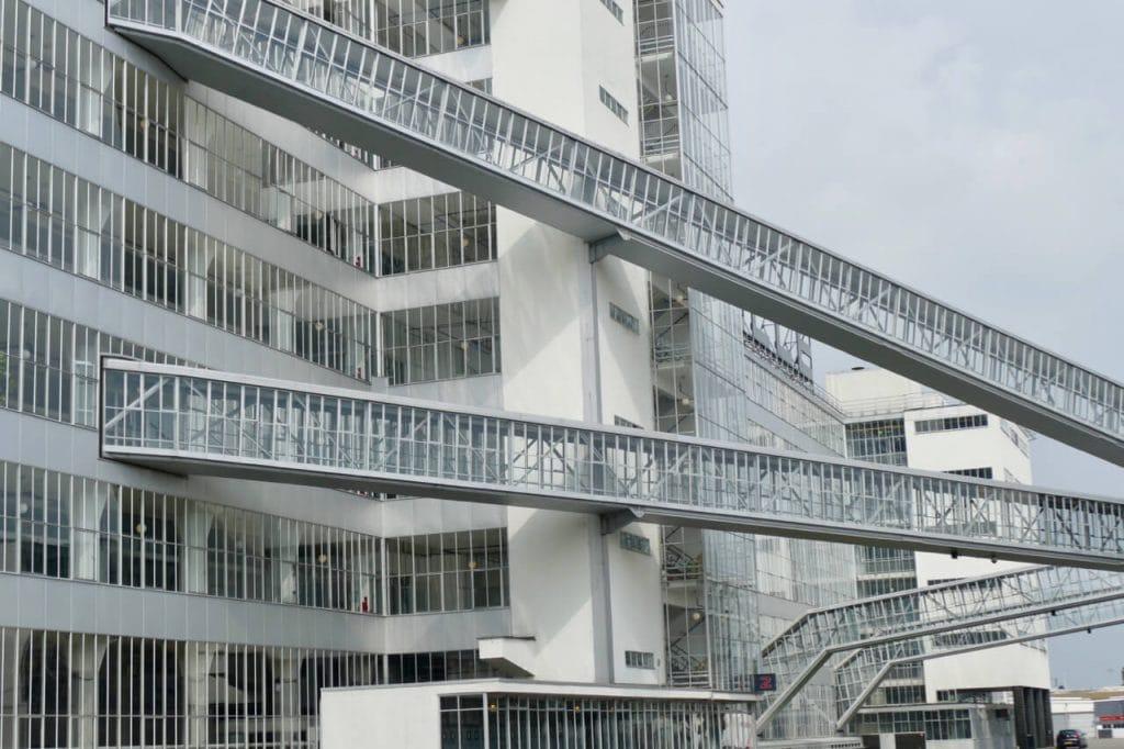 Exterior van Nelle Factory Rotterdam