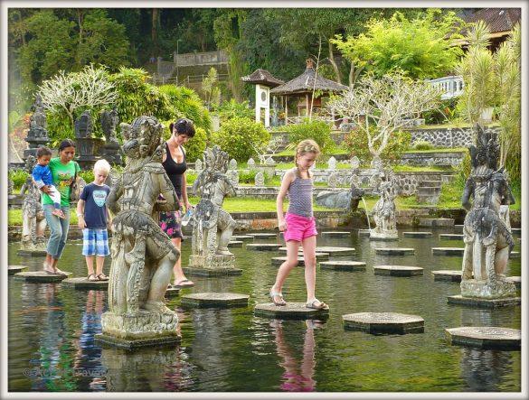 Water palace Bali