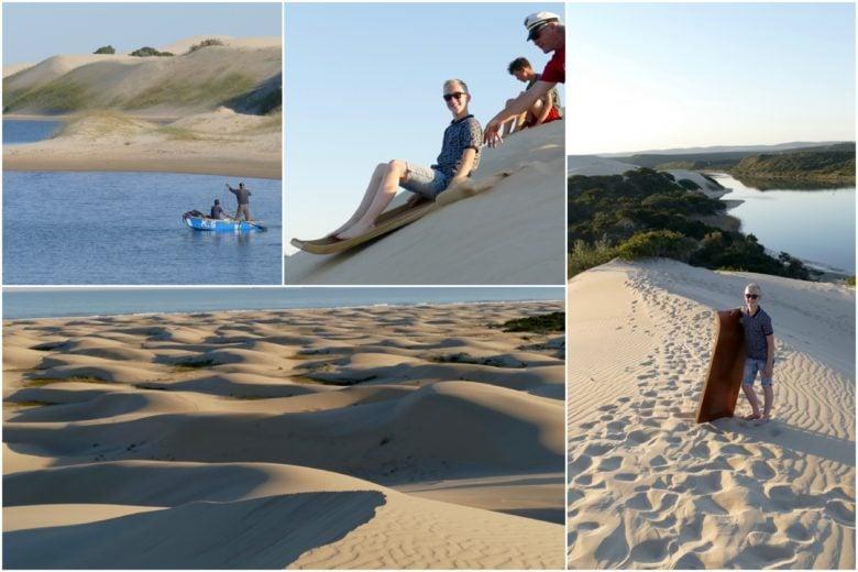 Sand sliding
