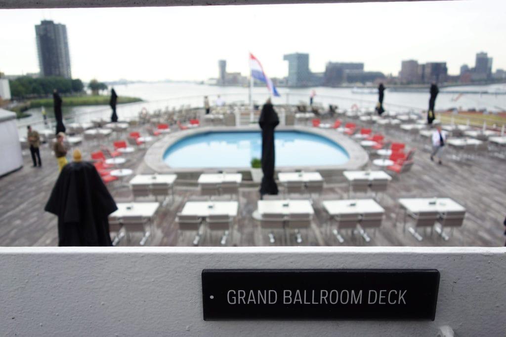 ss Rotterdam ballroom deck