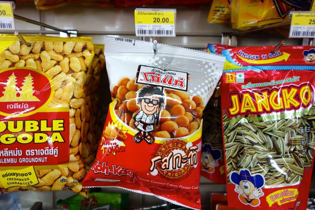Nuts 7-Eleven Thailand
