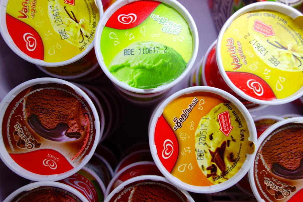Ice cream 7-Eleven