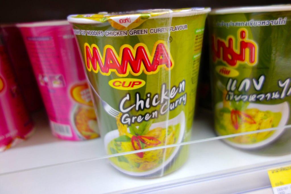 Cup Noodles 7-Eleven Thailand