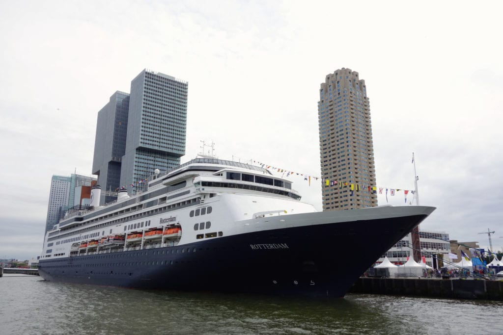Cruise ship Rotterdam