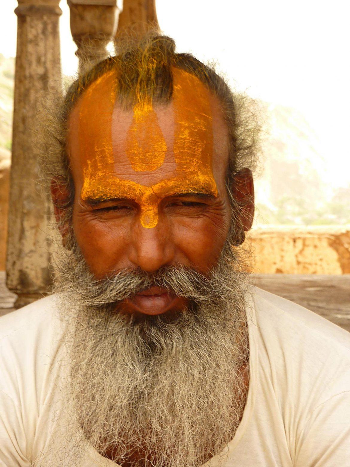 India Monkey temple