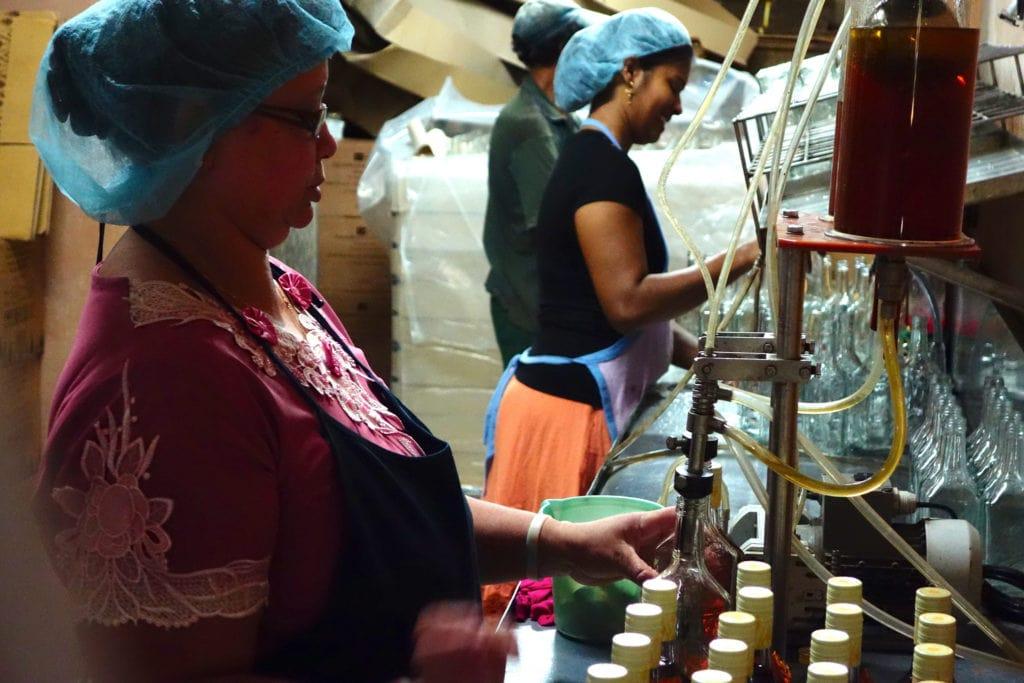 Mauritius rum factory