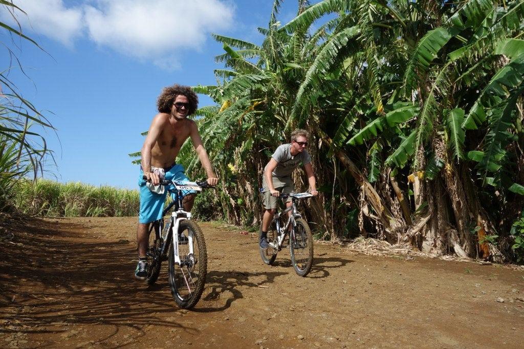 Mauritius mountain biking