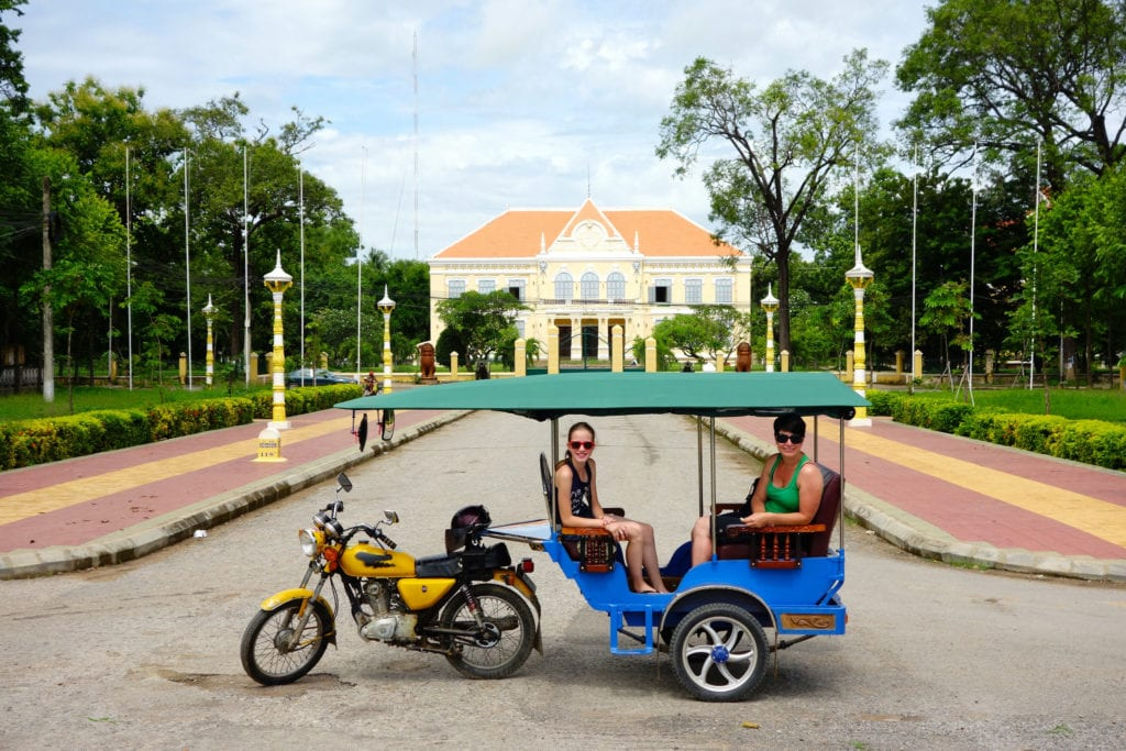City of Battambang Cambodia