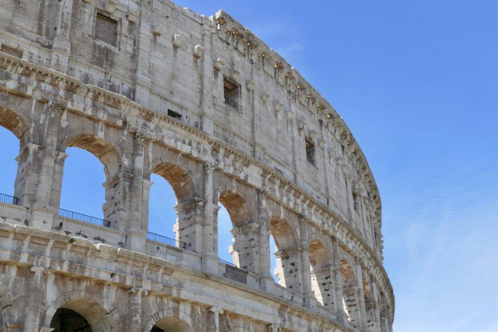 Colosseum exterior Rome