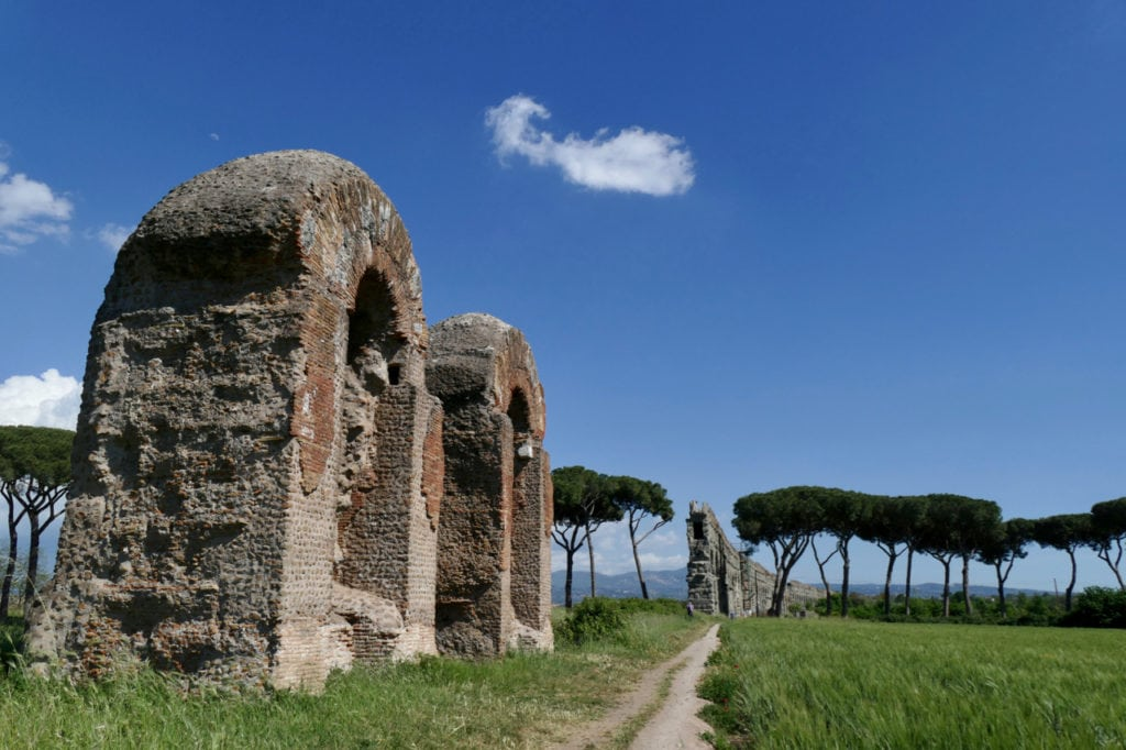 Aqueduct Aqua Claudia Rome