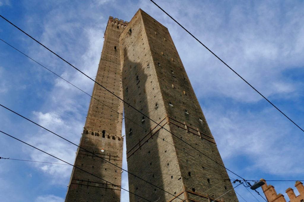 Two towers Bologna