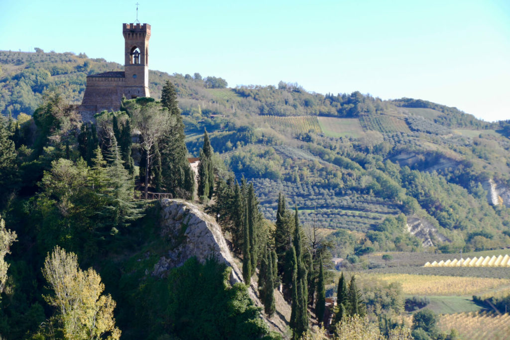 Brisighella Italy clock tower