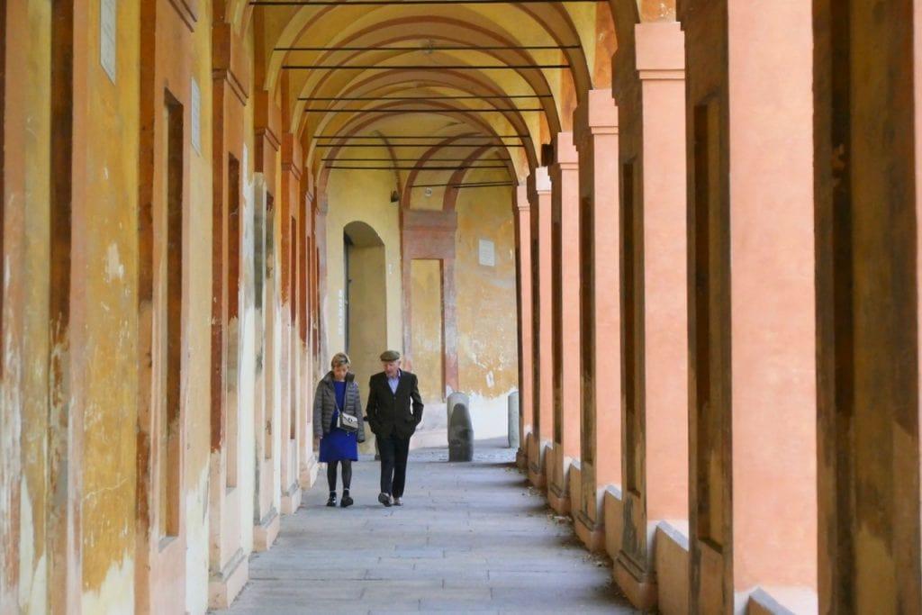 Bologna San Luca portico