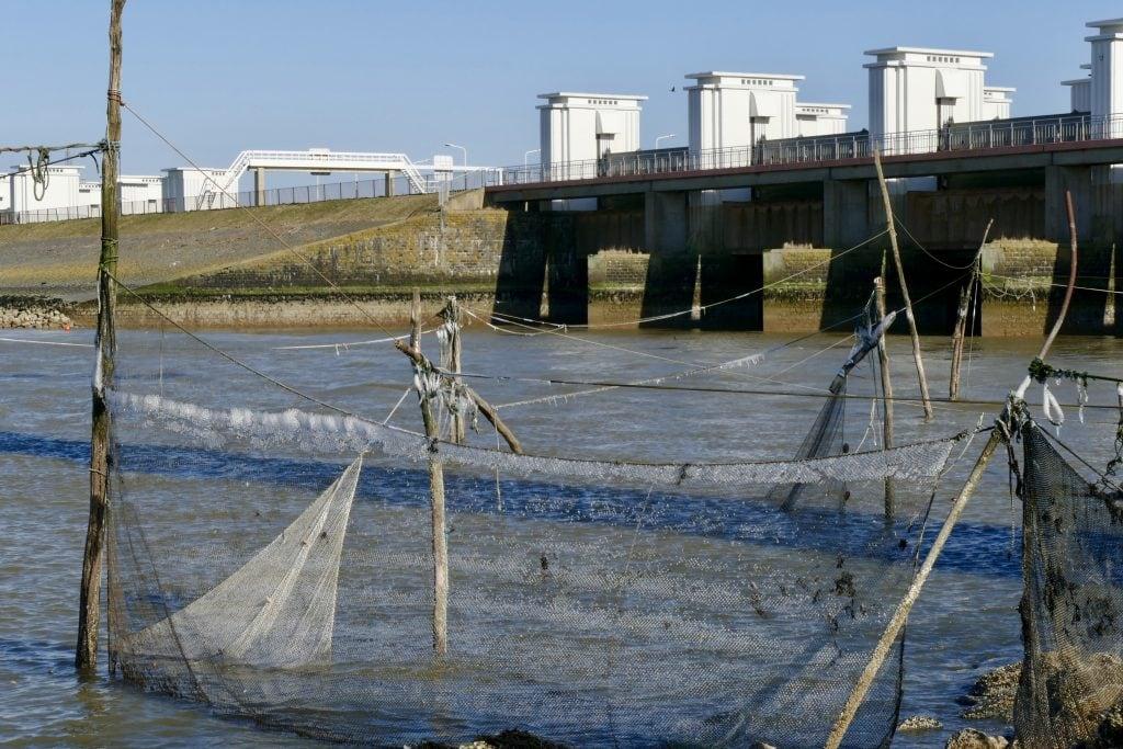 Stevinsluizen Afsluitdijk