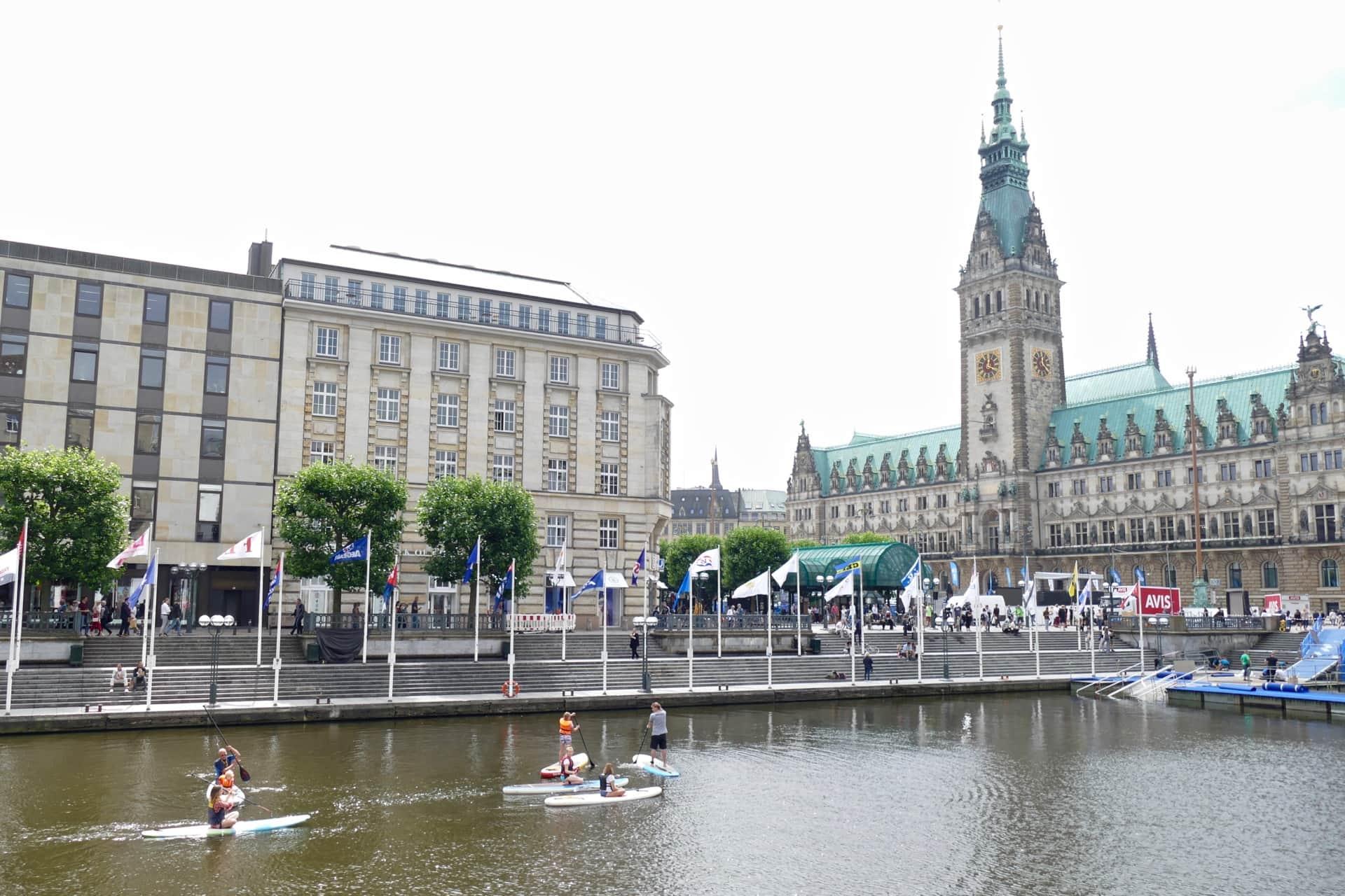Alsterlake Hamburg