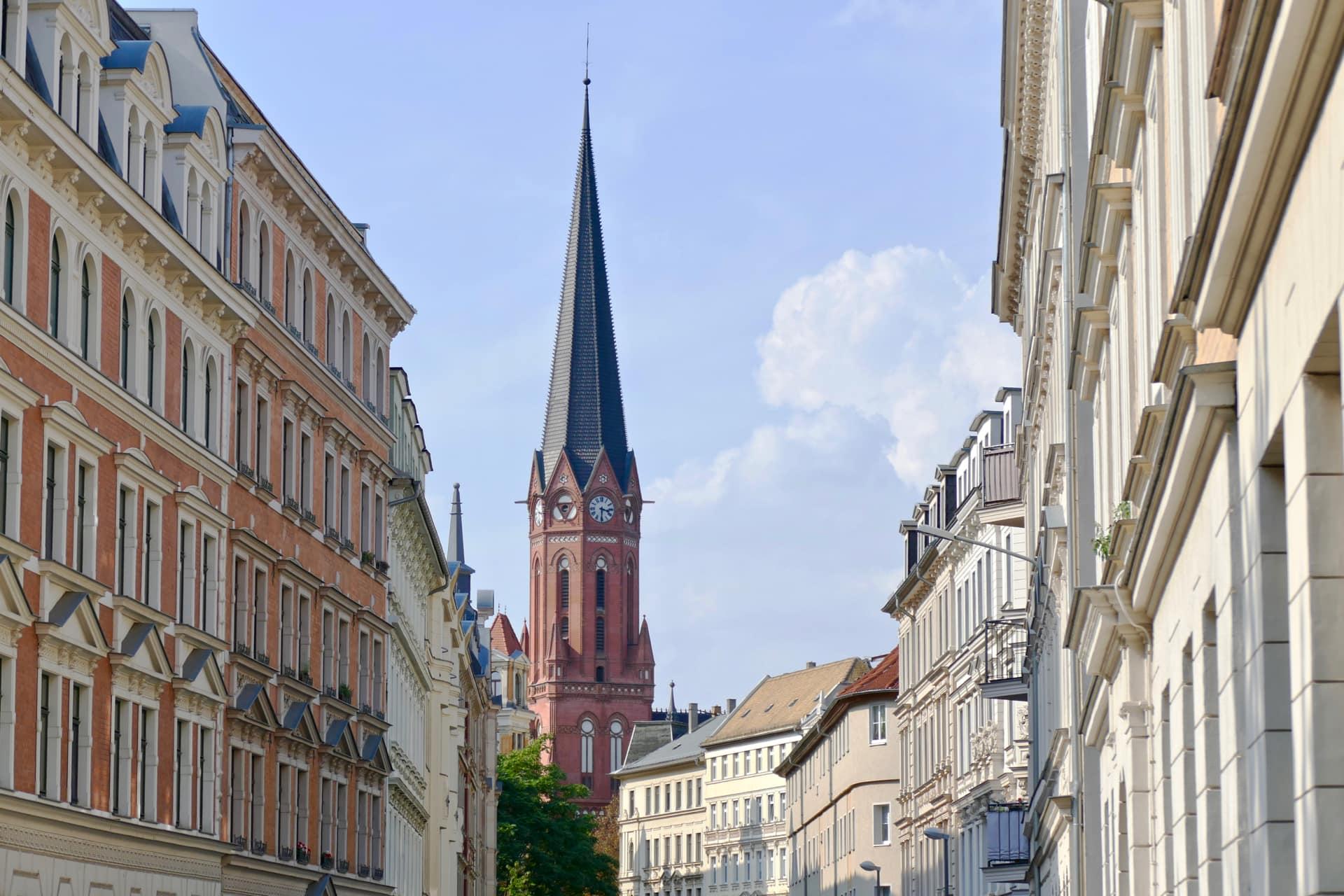 Leipzig church