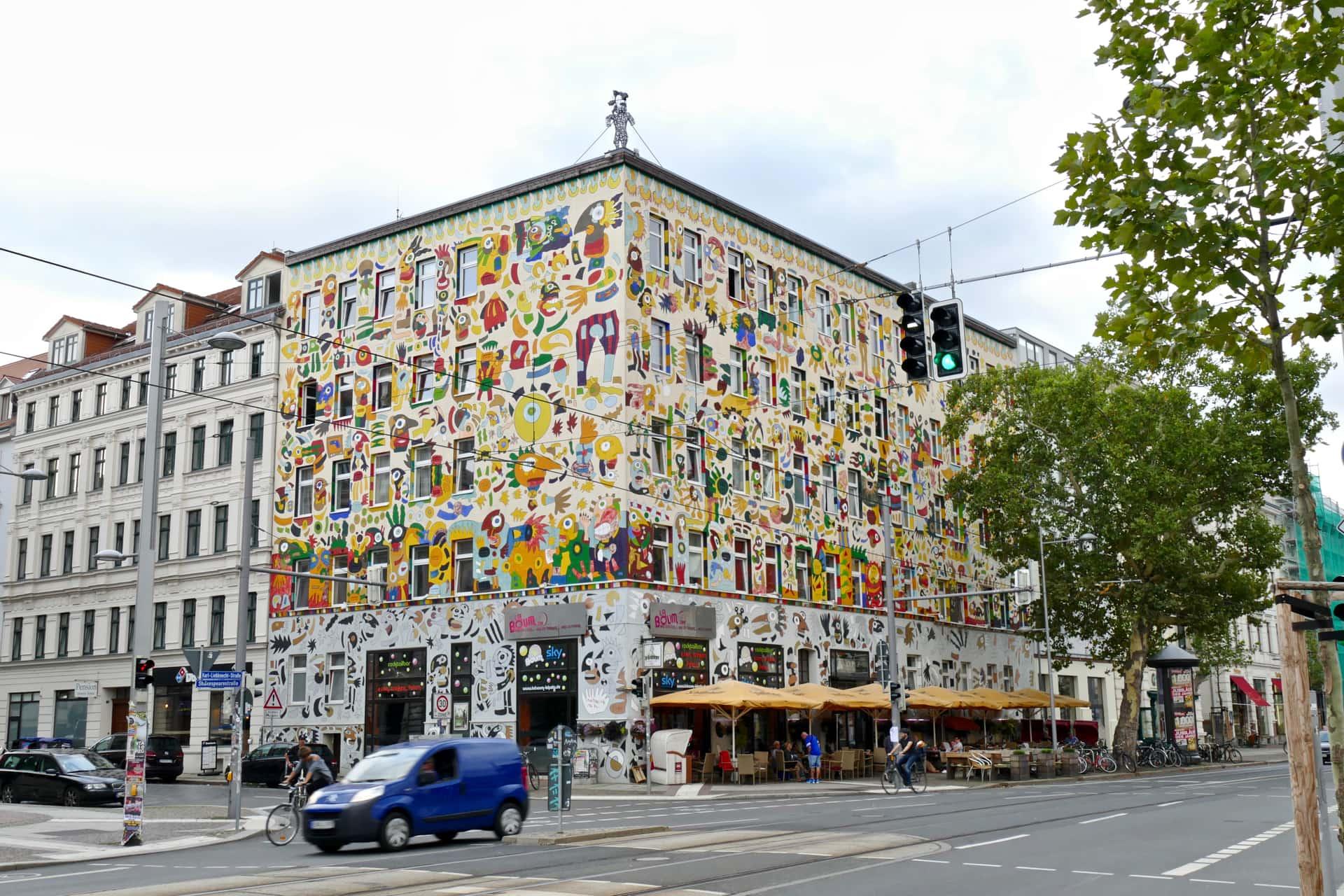 Karli street Leipzig