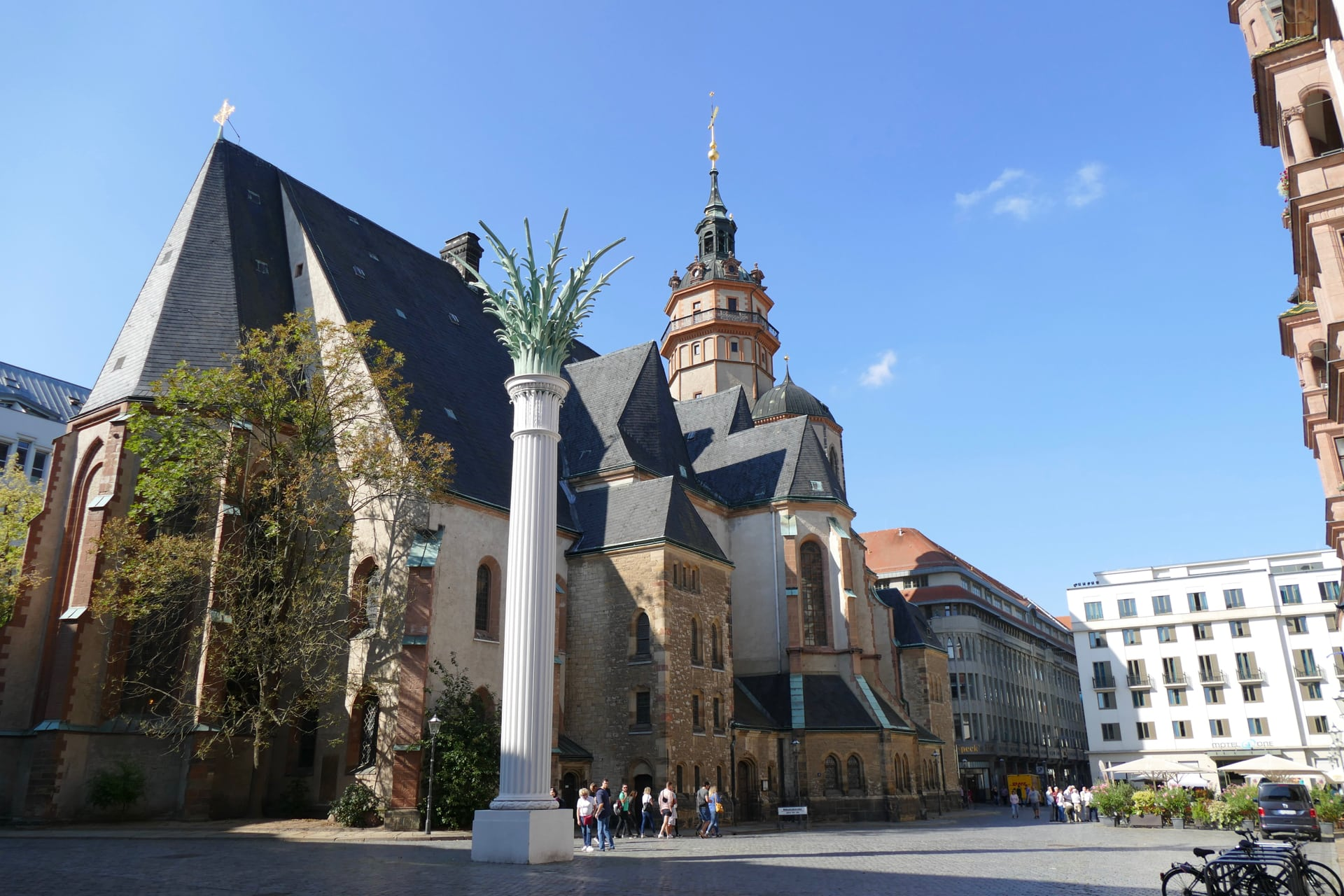 Nicolas church Leipzig
