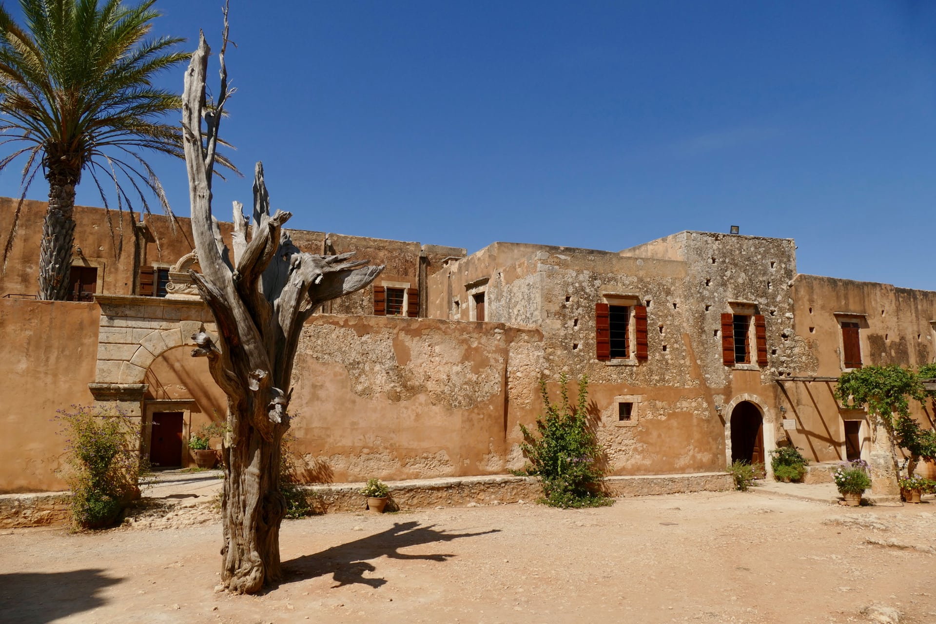 Arkadi Monastery Crete Greece