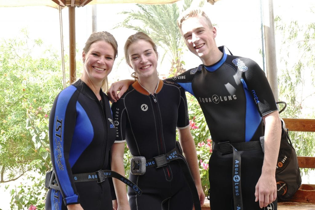 Diving in Aqaba Jordan