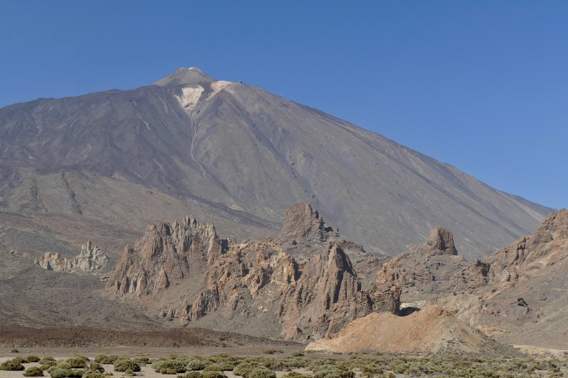 Teide with Garcia rocks