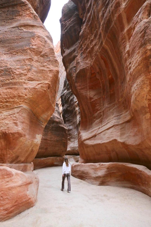 Siq near Petra