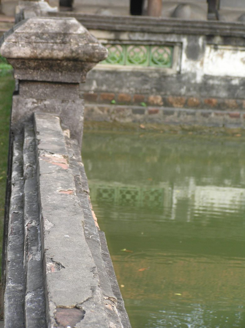 Hanoi Literature temple pond