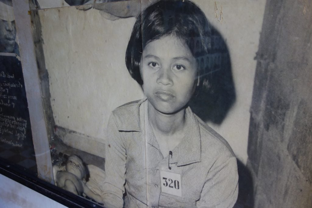 Pictures Tuol Sleng museum