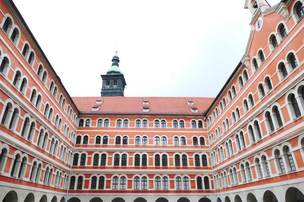 Graz courtyards