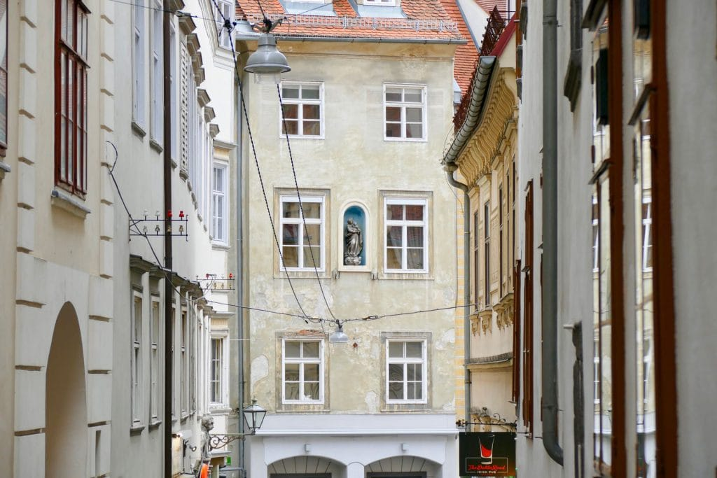 Graz historical buildings