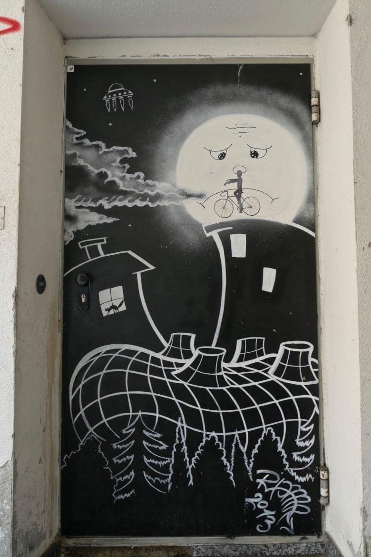 Kunsthaus street art Graz