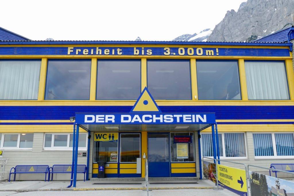 Station Dachstein glacier