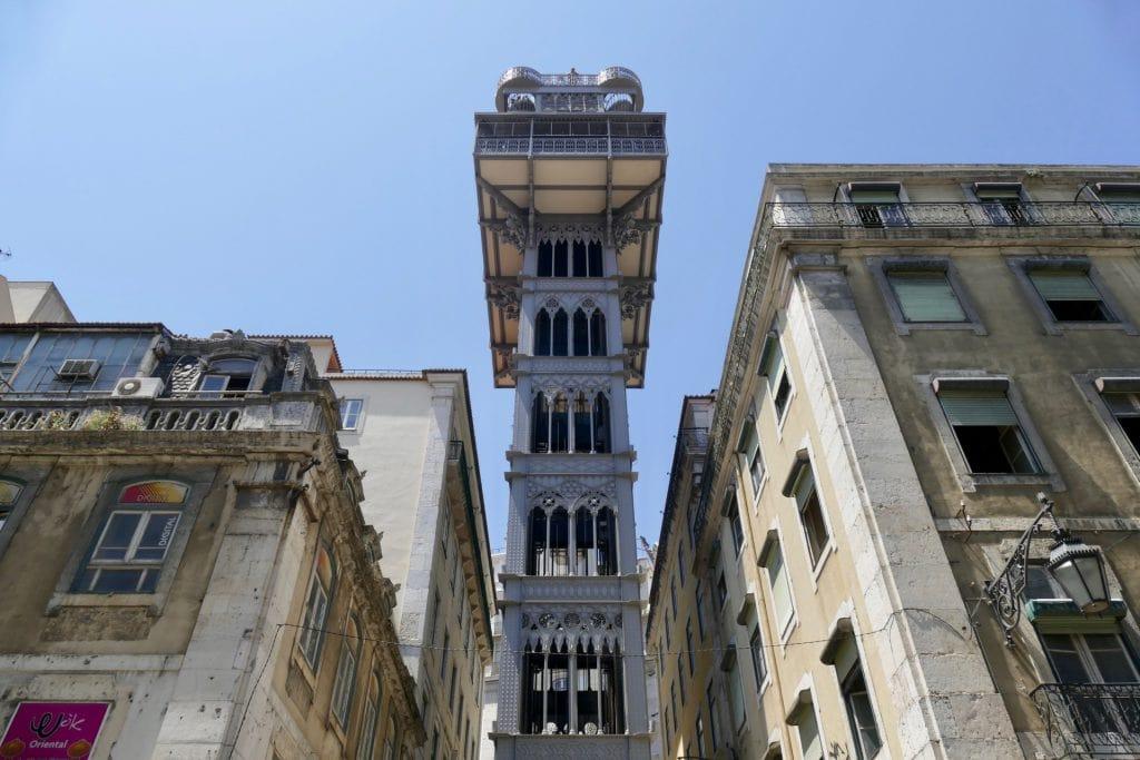 Lisbon elevador de santa justa