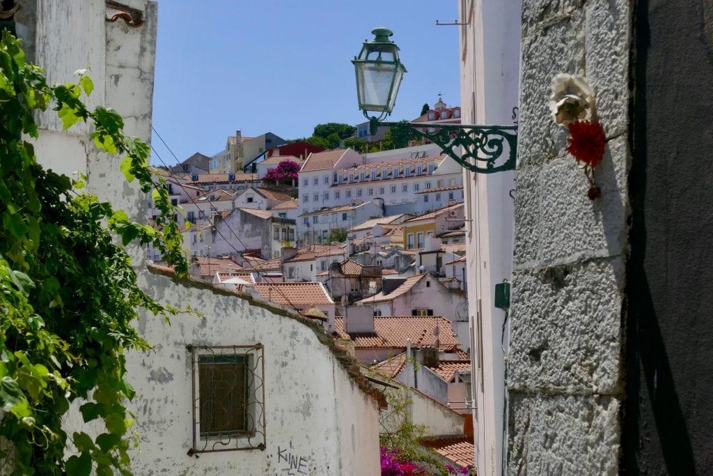 Lisbon alleys